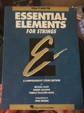 Essential Elements for String 00006000 s Book 2 Violin Method Learn Play Music Lessons New