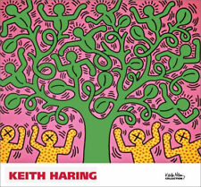 Keith Haring Untitled Figures With Tree Poster Print 28 x 30