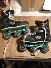 Mission Xi Roller Hockey Skates Hi-Lo Violator Youth Size Y-12