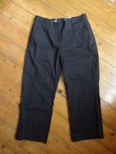 (222JAN) Size 10 *H&M* Chic black crop/capri trousers ladies/womens