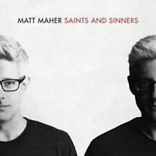 CD Mat Maher Saints and Sinners chrétiens Pop Worship NOUVEAU & NEUF dans sa boîte