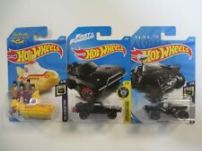 Hot Wheels HW SCREEN TIME BEATLES YELLOW SUBMARINE TORETTO CHARGER WARTHOG NEW