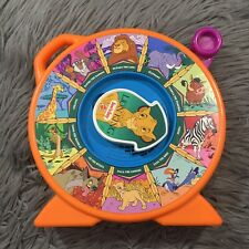 Mattel The Lion King See N Say Vintage Talking Toy Spin 1989 Tested Works