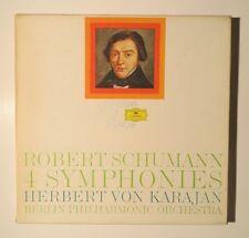SCHUMANN 4 SYMPHONIES 3 LP BOX Von Karajan - Deutsche Grammophon 2720 046 10 EX