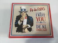 FE DE RATAS I WANT YOU EN LA DEMOCRACIA DE MI OMBLIGO - CD nueva
