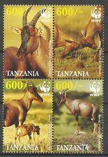 Tanzanie Tanzania Faune Antilope Damalisque Sassabi Topi Antelope ** 2006 Wwf