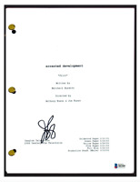 Jason Bateman Signed Autographed ARRESTED DEVELOPMENT Pilot Script Beckett COA