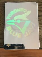 8X LOT TORONTO BLUE JAYS 1991 Upper Deck UD HOLOGRAM Sticker Lot BASEBALL 91