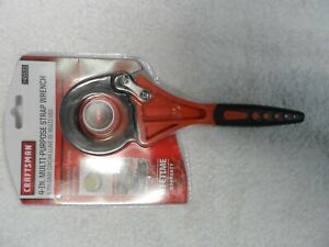 "Craftsman 4"" Multi-Purpose Rubber Strap Wrench Tool NIP - 9-45533 45533"