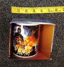 Iron Maiden Wicker Man 12oz Ceramic Coffee Mug Cup New in Box