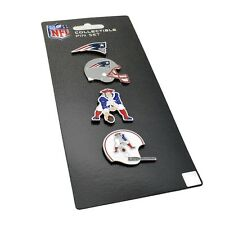 NFL New England Patriots 4 Pin Set Evolution Special Edition Vintage Aminco