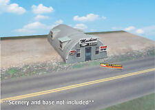N Scale Building - Quonset Hut **Pre-Cut** CARD STOCK (PAPER) Pre-Cut Kit #QH1N
