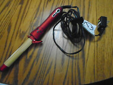 "CHI ARC 1"" Automatic Rotating Barrel Curling Iron-Used one time no Box"