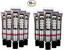 NEW!!! E6000 Industrial Strength Adhesive Glue .18 fl oz Minis Bulk Buy 10 PACK!