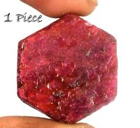 Africain 150-200 ct hexagone rubis étoile naturel 1 pièce Gemme Rugueux