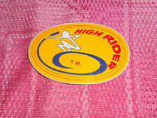 Surf Skate Og 70s High Rider Oval Skateboard sticker