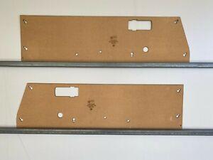 Subaru Brumby Brat 1978-1981 1600 Ute Half Height Door Cards. Blank Trim Panels