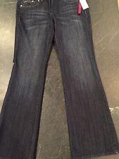 INC International Concepts Women's Jeans Boot Leg Size 10 Indigo NWT