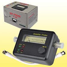 Satfinder PROFI SAT Finder Messgerät digital analog HDTV Satelliten-Finder 2400