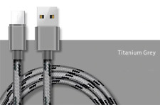 Long Micro USB Cable 1M High Speed Data Sync Fast Charger Braided Lead Genuine