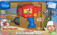 Handy Manny 2 in 1 Power Tool Drill Saw Squeeze Pliers Fix It Right Disney 3+ Yr
