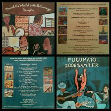 PUTUMAYO WORLD MUSIC sampler promo rare stock lot 2cd