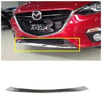 ABS Chrome Front Bumper Grille Cover Trim For 2014-2017 Mazda3 AXELA New