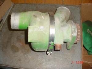JOHN DEERE COMBINE TRACTOR ENGINE TURBO JD