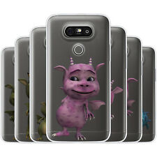 Dessana Sweet Dragon TPU Silicone Protective Cover Phone Case Cover For LG