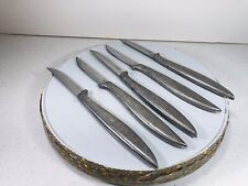 Lot 5 Vintage Steak Knives Solingen Stainless Germany