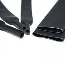 Φ80mm 2:1 Black Soft Heat Shrink Tubing Sleeving Cable Electrical Wrap x 2 M