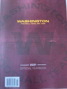2021 WASHINGTON FOOTBALL YEARBOOK NFL FOOTBALL PROGRAM SUPER BOWL? HALL OF FAME