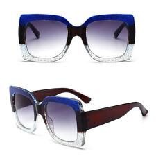 a9418d7a64 2018 Lujo Marca Diseñador Grande Pequeño Gafas de Sol Cuadradas Mujer