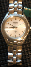 RARE VINTAGE AUTHENTIC SEIKO KINETIC MEN'S 100m WATER RESISTANT WATCH COLLECTION