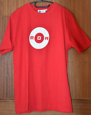 T-shirt short sleeves red MOA CLUB WEAR Size S