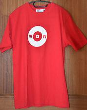 Camiseta de manga corta rojo MOA CLUB WEAR Talla L