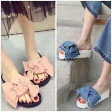 Denim Sandals Heels for Women