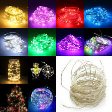 20/50/100 LED String Battery/USB/12V Supply Copper Wire Fairy Lights Party Xmas