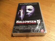 Halloween 5 - Danielle Harris- Horror Slasher - Dutch Vhs english NEW sealed