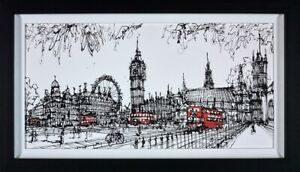 Ingo Picture Parliament Square - Framed