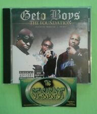 GETO BOYS-THE FOUNDATION(2004)Z-RO, OG WAR & PEACE DISC RAP-A-LOT RECORDS