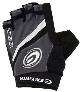 Exustar Gloves - Half Finger - Gel Padding
