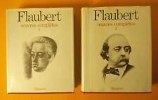 FLAUBERT oeuvres complètes T1& 2 - Ed Seuil, collection L'Intégrale, (1964)