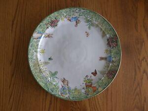 Pottery Barn Peter Rabbit Garden Stoneware Serving Platter-Easter-Kids Birthday