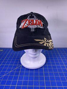 The Legend Of Zelda Twilight Princess Distressed Logo Snapback Hat Cap