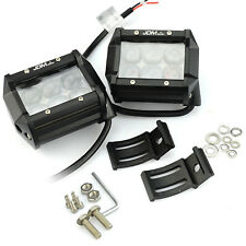 JDM ASTAR 18W 2100LM White LED Light Bar Work Spot Flood CREE Lamp Offroad Boat