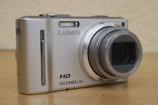 Panasonic LUMIX DMC-TZ 10  Hochwertige Kompaktkamera HD Video + GPS