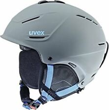 "Skihelm/Snowboardhelm Uvex ""P1us"" Gr. 59-62cm grey-blue NEU ovp uvp 99,95"