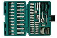 Kamasa Tools Offer! Socket Set 58 Pieces 56017 1/4 Drive * Chrome Vanadium