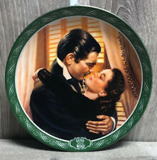 You Should be Kissed Gone with the Wind 1992 Bradford Exchange Plate Scarlett
